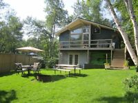 Tobin Lake Cabin For Sale with ongoing improvements