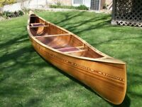 One-of-a-Kind Canoe