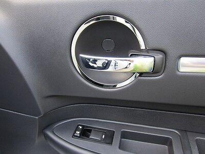 2006-2010 Dodge Charger+2005-2008 Magnum S.S. Interior Door Handle Ring 4 pc