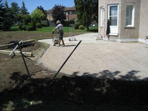 Landscaping Interlocking, Flagstone, Sod, Grading, Fences, Decks