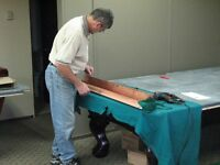 Pool Table Service - Recovering or New Rail Cushion Rubber