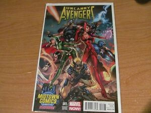 Uncanny Avengers #1 Midtown NYCC Exclusive J Scott Campbell