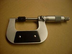 """Micrometre exterieur 1-2"""" .0001"""" avec calibration standard"""