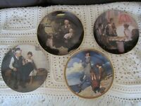 Norman Rockwell Plates with Certificate & box