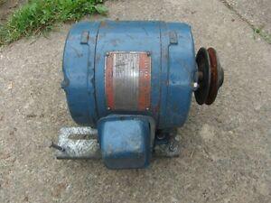 Moteur General Electric USAGER 2HP, 550 volts, 1735 RPM