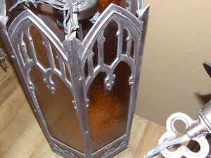 Set of four gothic style hanging church lights Saint John New Brunswick image 5