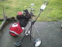 Great Set of Golf Clubs, Bag.