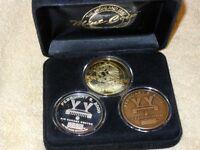 Ltd Ed.Silver 3 Coin 2000 NHL All-Star Game  Coin Set #21