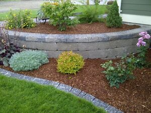 Bark Mulch and Garden Soil