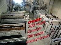 Proper way shopping for granite counter top, view entire slabs!