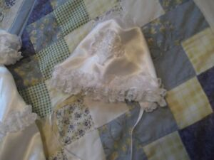 GORGEOUS SATIN AND LACE BAPTISIMAL OUTFIT Cornwall Ontario image 5