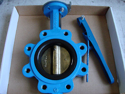 5'' Mueller Lug Style Butterfly Valve 88inb6-1 With Leaver Handle