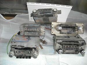RADIOS FROM 70's & 80's AUTOMOBILES