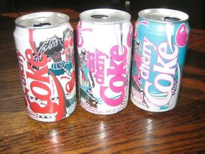 Cherry Coke Can Collection
