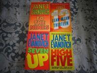 Brand New Janet Evanovich Books