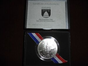 1989 United States Silver Dollar Uncirculated
