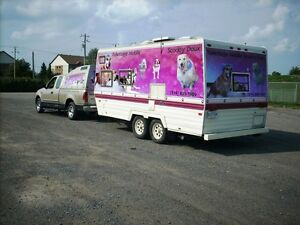 TOILETTAGE MOBILE SCOOBY DOUX/MOBILE GROOMING RIVE-SUD DE MTL...