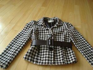 Ladies Dynamite Lined Jacket w/ belt  - Size 6(Small-Medium) Kitchener / Waterloo Kitchener Area image 3