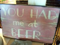 You had me at beer ! & fun gifts !