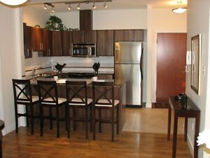 Furnished 2Bed2Bath Exec Condo Oliver/3Blocks off Jasper Ave Edmonton Edmonton Area image 2