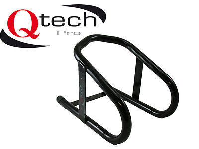 Motorbike WHEEL CHOCK Motorcycle FRONT Stand Stay Bike Anchor