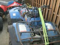 suzuki quad runner et king quad 300,,,500 en piece