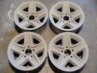 Set of 4 Aluminum Z28 Camaro Wheels For Sale