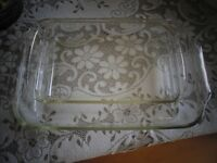 Pair of Pyrex Lasagna Dishes