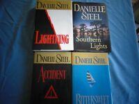 Selected Danielle Steel Hardcover Books