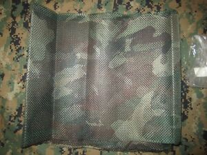 US ARMY Issue Sniper Mesh Body Veil  5' X 8' , Woodland.