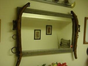 BLOWOUT Vintage Mirror and Hames $150.00
