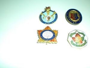 LAPEL PINS  FROM THE 20s AND 30s LAWN BOWLING, TENNIS CLUBS Kitchener / Waterloo Kitchener Area image 2
