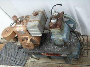Webster Compressor and Tank $300.00  OBO