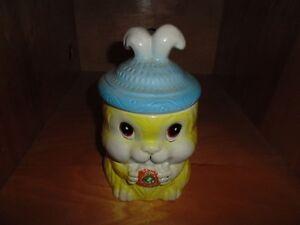 Bunny Rabbit Cookie Jar