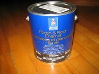 1 gallon de peinture Sherwin Williams - terrasses et Planchers