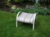 Patio Foot Stool with cushion