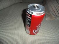 Collectible Super Bowl 27 Coke Can, Tampa Florida
