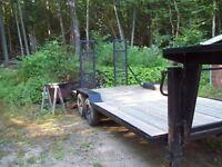 5TH wheel utility trailer