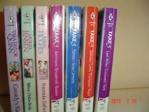 "4 ""HARLEQUIN TAKE 5"" & 3 ""MAITLAND MATERNITY"" PAPERBACK NOVELS Windsor Region Ontario image 1"
