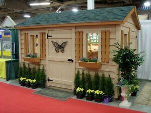 Sheds, Garden Sheds - Solid Wood - European Style Windsor Region Ontario image 4