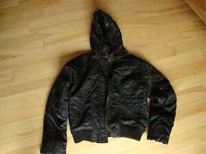 Brody Black Bomber Style Winter Jacket - Mint Condition Size LG Kitchener / Waterloo Kitchener Area image 4