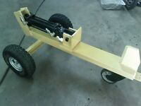 Mini log splitter .. logs up 12""