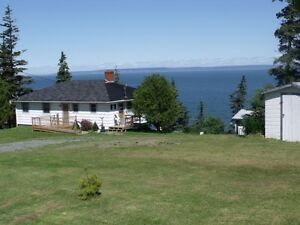 Harbour Home on beachfront property on the Bay of Fundy