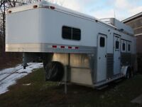 2003 4 Star 3 horse slant trailer with tack room