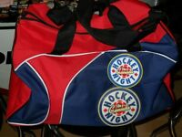 HNIC Don Cherry Puck + Brand New Athletic Bag Hockey & Toque