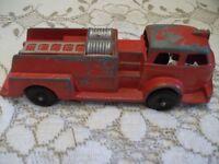 Hubbley Toy Firetruck