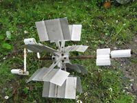 Aluminum paddle wheel $20