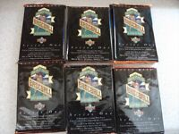 1993 Series 1 Upper Deck Baseball Card Packs (6)