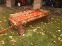 Wagon-Large Wagon for Yard or Play-Custom Built-Very Strong