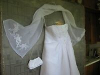 Wedding Dress - Private Collection ($225)